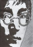 John Lennon by Julianne Woodfin