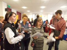 Young people seeking volunteering opportunities